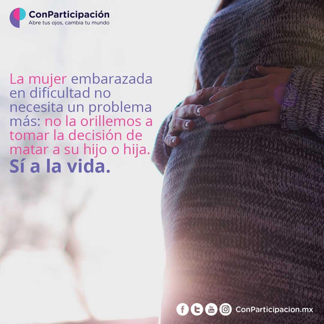 Apoyo a la mujer embarazada en dificultad