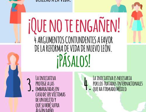 ¡Qué no te engañen! 4 argumentos contundentes a favor de la reforma de la vida de Nuevo León ¡pásalos!