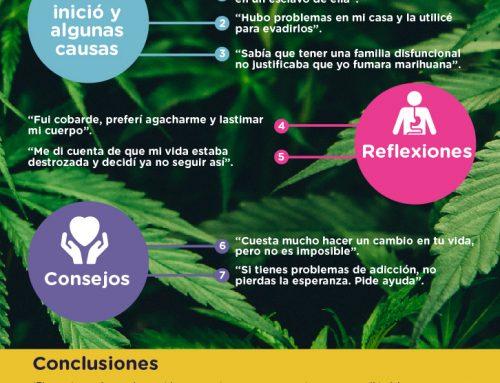 La experiencia de un joven con la marihuana en 7 puntos