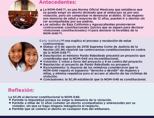 Controversias Constitucionales NOM-046