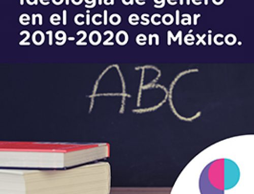Imponen ideología de género en el ciclo escolar 2019-2020