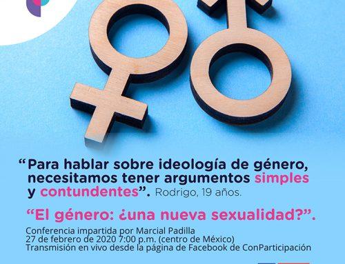 Rodrigo opina sobre ideología de género