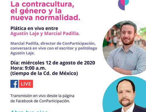 """""""La nueva normalidad y su impacto en América Latina"""" plática en vivo  entre Agustín Laje y Marcial Padilla."""
