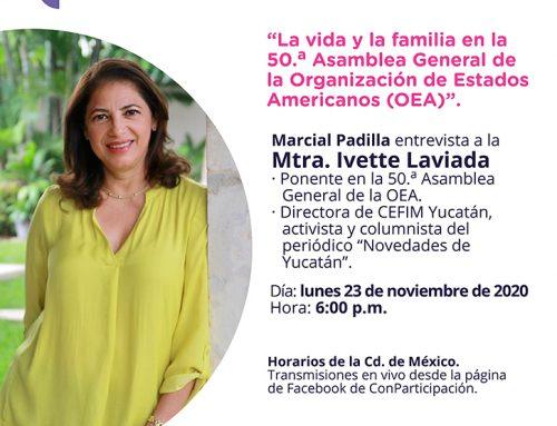 Entrevista a la Mtra. Ivette Laviada