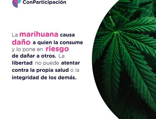 Daños de la marihuana.
