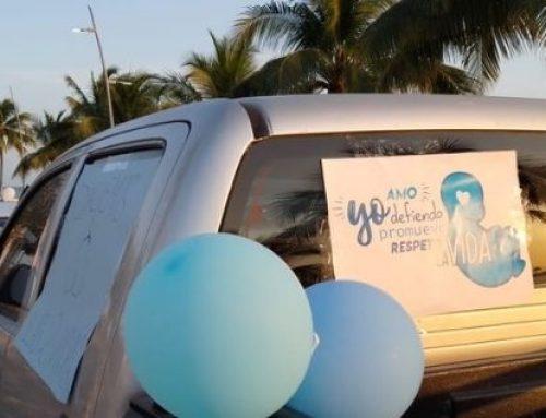 Ciudadanos salen a la calle en Quintana Roo por el derecho a la vida