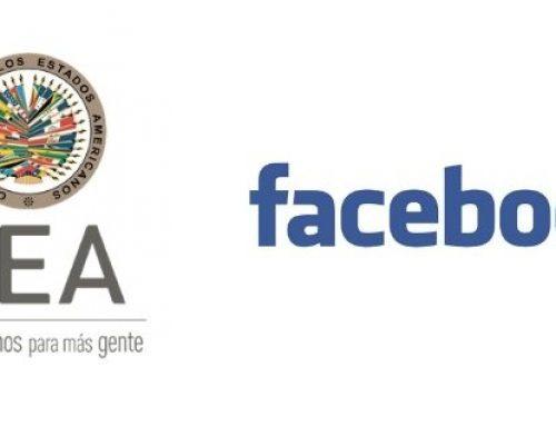 OEA y Facebook cooperarán en favor de la integridad electoral y los derechos humanos