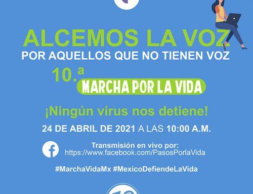 10ª Marcha por la Vida.