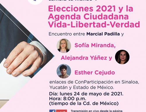Elecciones 2021 y la Agenda Ciudadana Vida-Libertad-Verdad