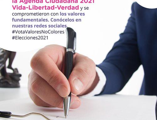 Firma de agenda ciudadana
