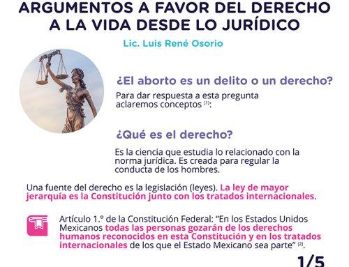 El derecho a la vida desde lo jurídico 1-5.