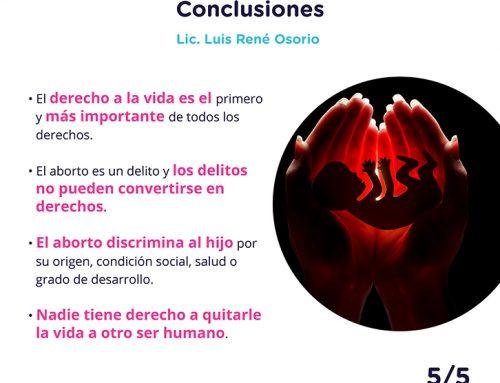 El derecho a la vida desde lo jurídico 5-5.